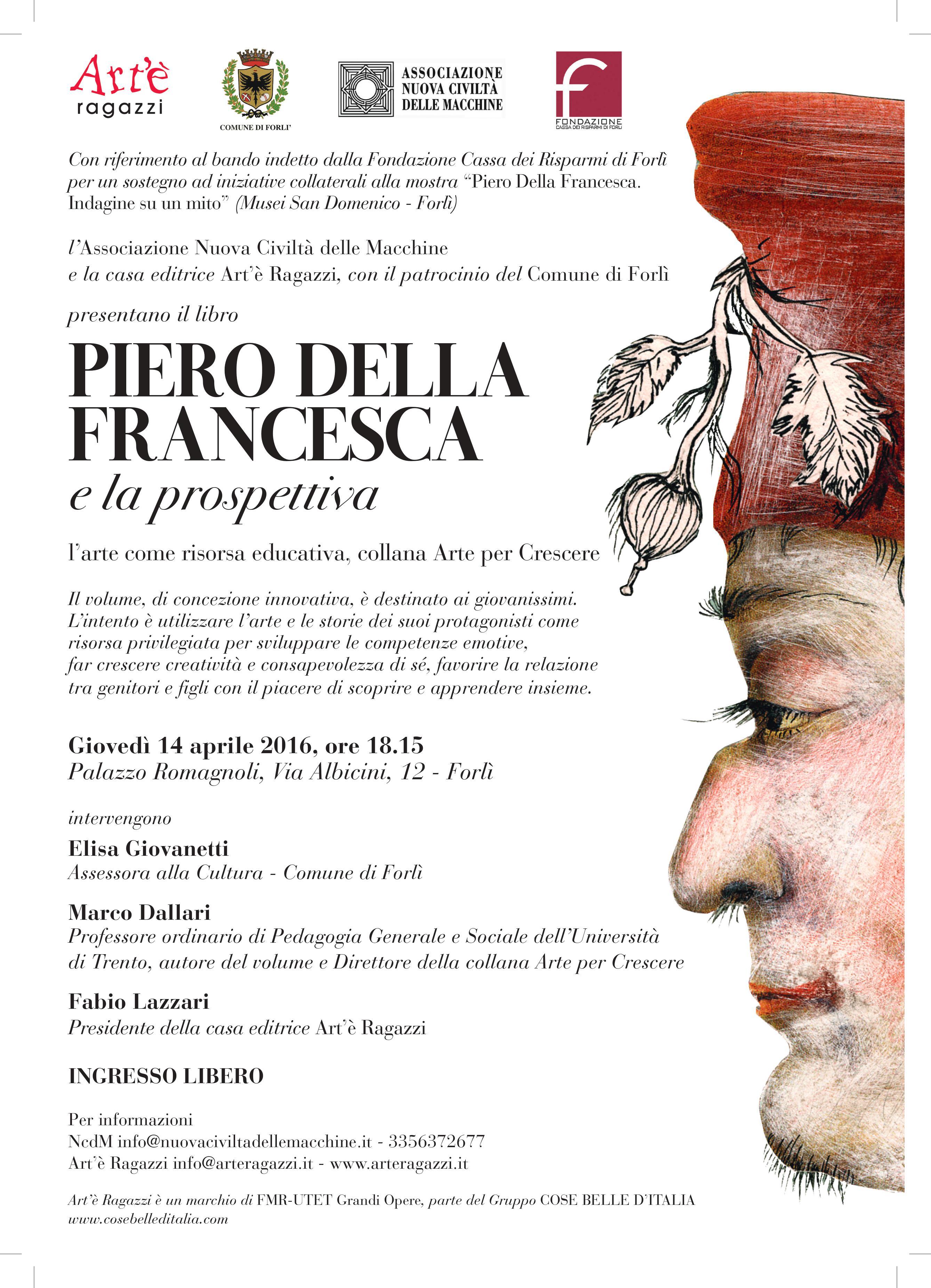 Locandina Volume Piero della Francesca e la  prospettiva